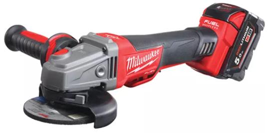 Milwaukee Vinkelslip M18 CAG125XPDB-502X