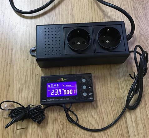 Termostat Pro med nattsänkning och timer