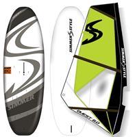 Windsurf pakke: AMP 160l + Quest rigg 1,5m2