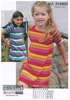 Kortärmad klänning i Blend