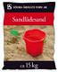 Sandlådesand/Sandbad 15 kg