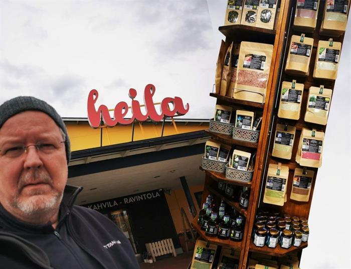Poikkea Heinolan heilassa, siellä hyllyllinen Nordicforyou.fi -tuotteita