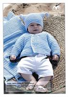 Babykofta, mössa o filt i Tilda