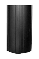 Ifyllnadslist svart B=32 mm