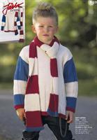 Tröja & halsduk i Soft Cotton