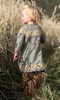 Sitronblomst - Kjole & Pannebånd i ull