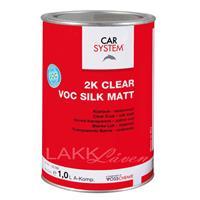 CS 2K Klarlakk VOC Silkematt 1L