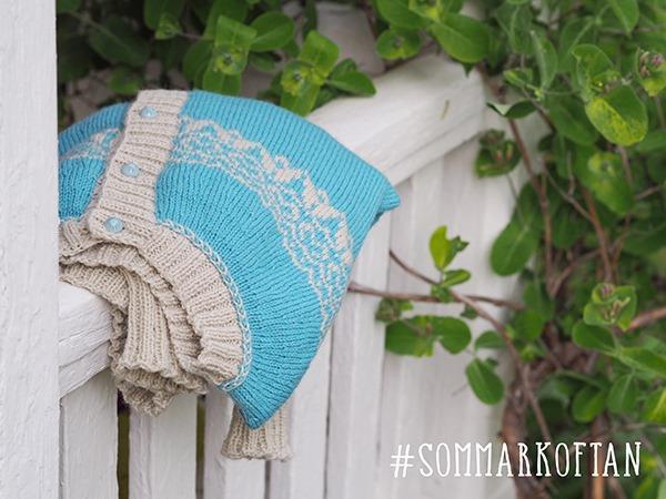 Knit-along #Sommarkoftan