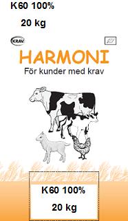 Harmoni K60 100 % 20 kg