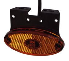 Sidomark.lykta Aspöck Flatpoint II, LED 12V