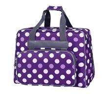 BabySnap ompelukonelaukku violetti/pilkullinen