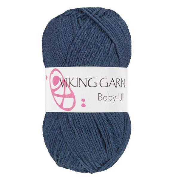 Viking Baby Ull Jeansblå
