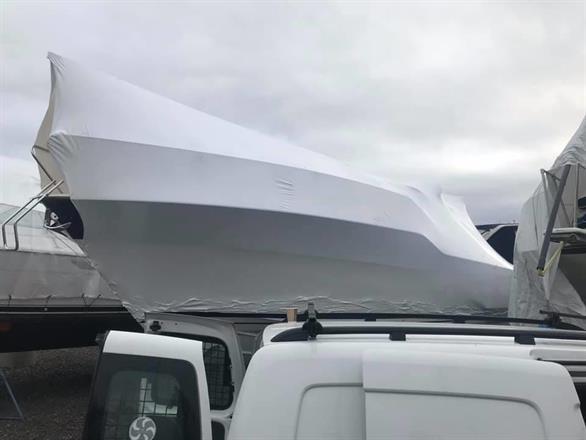 Krympplastning på båtklubbar
