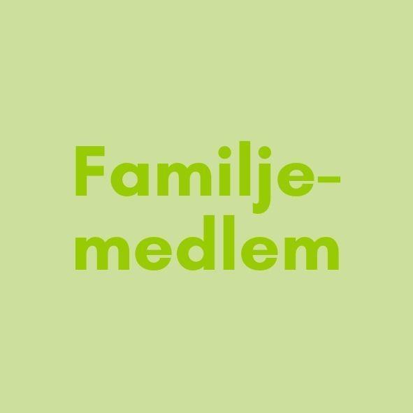Medlemsavgift familjemedlem