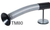 Trattmunstycke med magnet 80mm