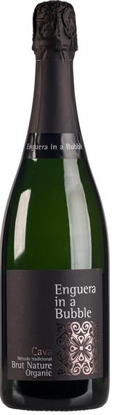 Cava Enguera in a bubble Brut Nature