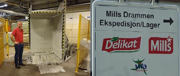 Wold-Trade installerer Toppyløsning hos Mills i Drammen og Tine i Oslo