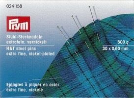 Stålknappnålar 30mm