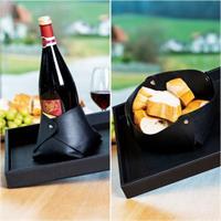 Silwy vinflaskeholder / brødkurv