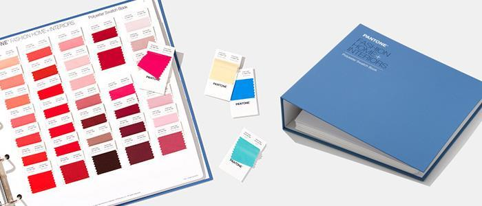 PANTONE F+H Polyester Swatch Book