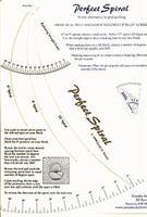Spiralmønster til håndquilting 2