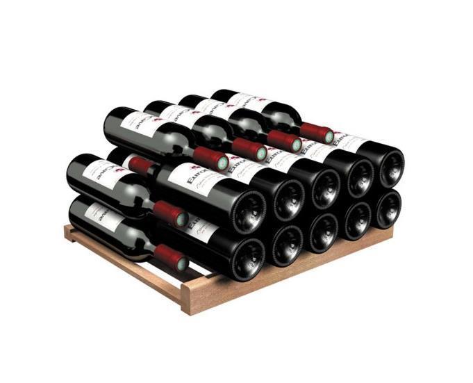 Lagringshylle for Bordeaux og Burgund flasker for Compact serien