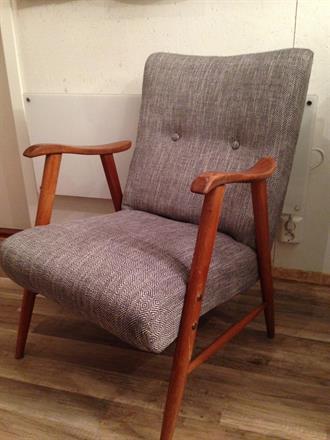 Etter bilde av teak stol