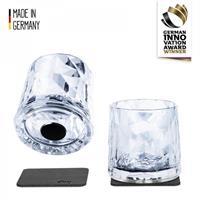 Silwy Whiskeyglass / Lite vannglass plast