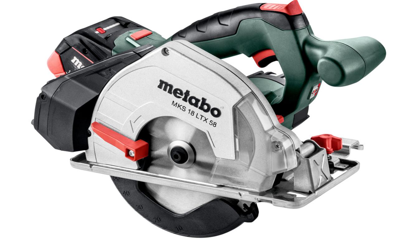 Metabo Cirkelsåg MKS 18 LTX 58