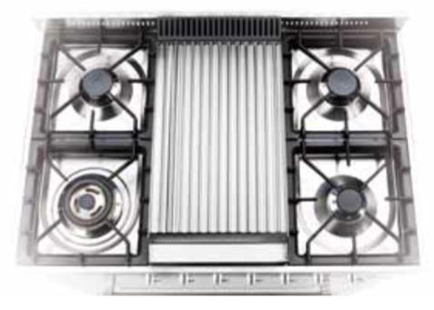 G/419/03 - Grilplate for modeller med Tepanyakiplate