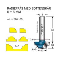 Radiefräs R=5, L=10