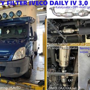 HJS 20-06 CITY DPF til Iveco Daily IV 3.0 EURO 4