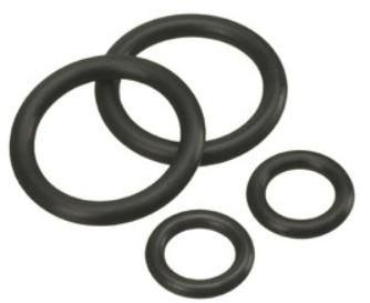 O-ring sats (2 stora, 2 små) S80