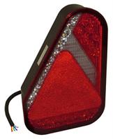 Baklykta Aspöck Earpoint, LED 9-32V, vä