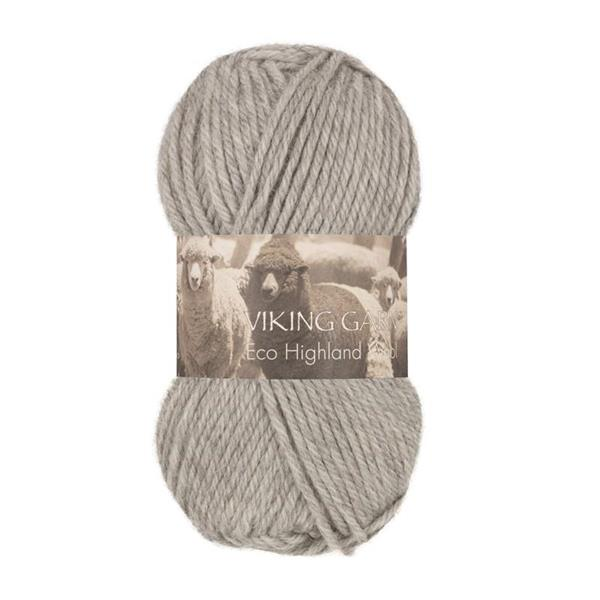 V Highland Eco Wool ljusgrå