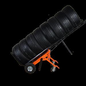 Däck-Hjulkärra