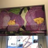 Fuskhissgardin i Floral, kontor Centrumhuset Götene