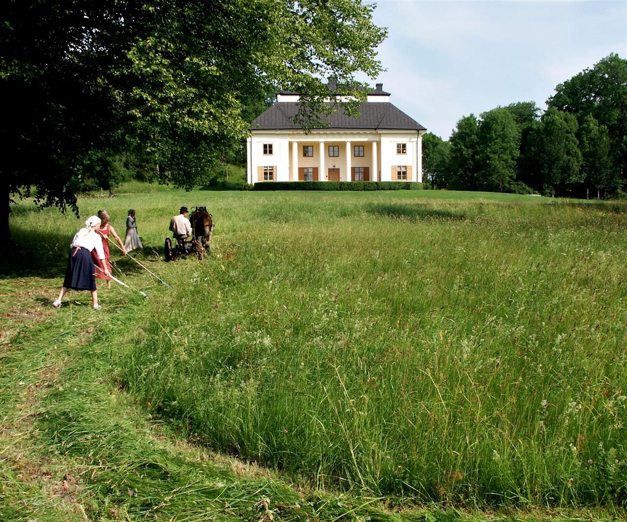 Ståthållarbostaden Drottningholm säte för Drottningholms Släktforskning