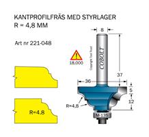 Kantprofilfräs R=4,8mm