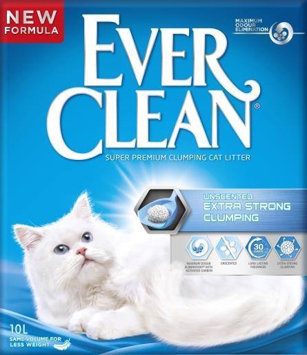 EverClean Unscented Extra Strong Clumping 10lit