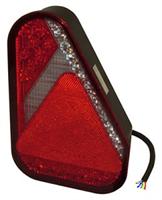 Baklykta Aspöck Earpoint, LED 9-32V, hö