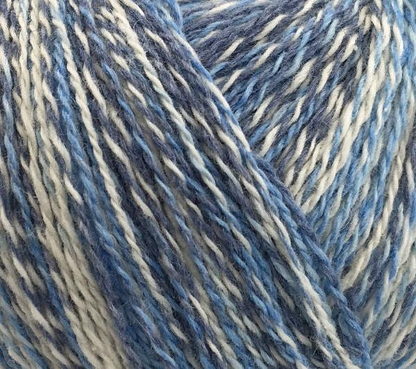 Esther Color Grå, blå, vit melerad