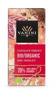 Vanini økologisk mørk sjokolade 70%