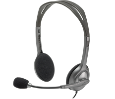 Logitech H110 Stereo Headset 2x3,5mm