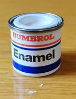 Humbrol Enamel 14ml Klar lack