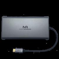 Nordic Accessories NOR-UH12H 12-in-1 USB-C Dock
