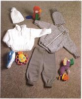 Barn/babyset i dubbel Minicryl