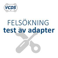 Test av adapter