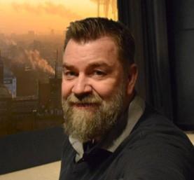 Michael Blomqvist Biografföreståndare Sagabiografen Oskarshamn