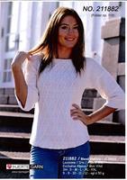 Sweater med mönsterst i Blend